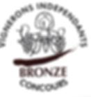 Médaille de bronze conconcours vignerons indépendants Bandol Rosé Domaine Maubernard