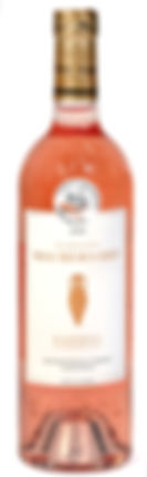 Le vin rosé 2015 a obtenu une médaille d'argent au concours des vignerons indépendants en 2016. Domane Maubernard. Appellation Bandol. Cépages Mouvèdre Grenache Cinsault