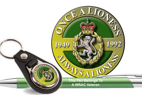 Car Decal Gift Set  - WRAC Once A Lioness
