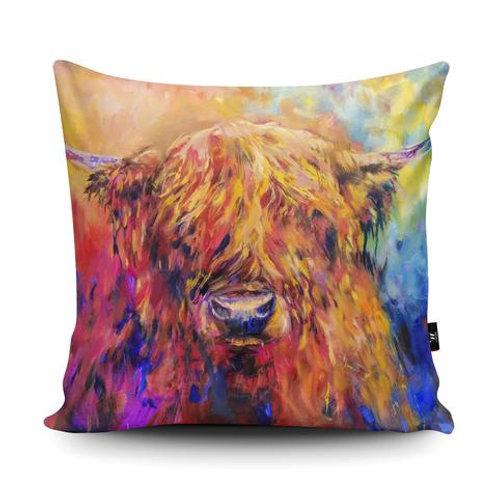 Cushions - RAINBOW COW SG28U