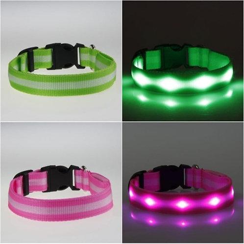 Adjustable Glow Pet Collar