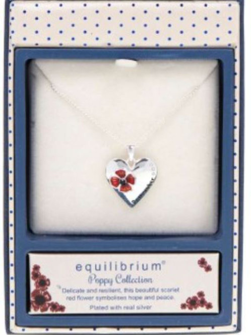 Equilibrium - Poppy Remember Necklace