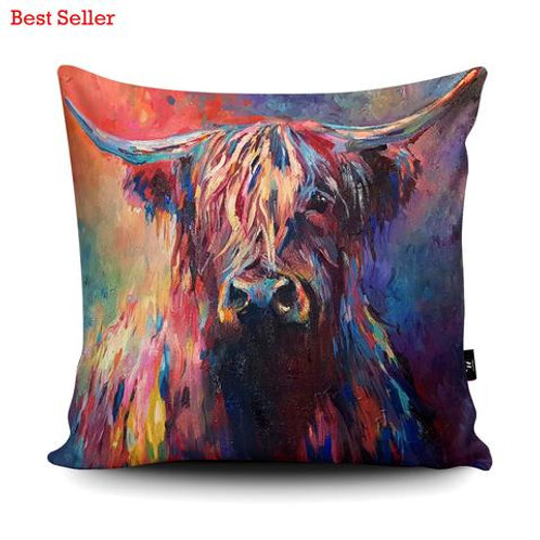 Cushions - HIGHLAND COW SG03U