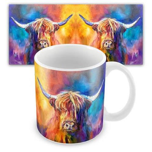 Ceramic Mugs - HARRIS THE HIGHLAND COW SG16M