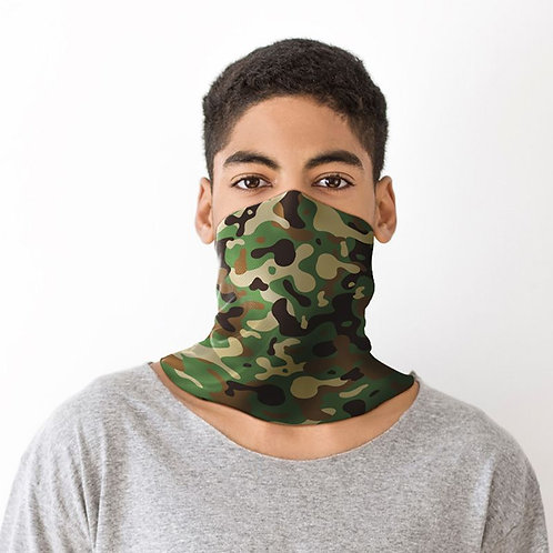 Camouflage Neck Scarf Face Covering