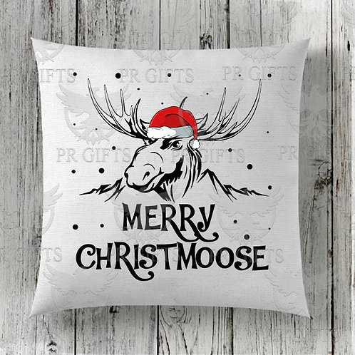 Cushion Covers - Merry Christmoose