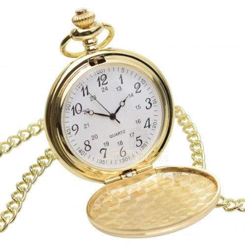 Fob Watch - Plain (Arabic Numerals)