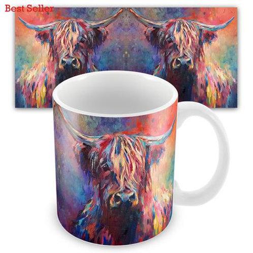 Ceramic Mugs - HIGHLAND COW SG03M