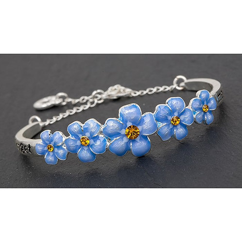 Equilibrium - Forget Me Not Bangle
