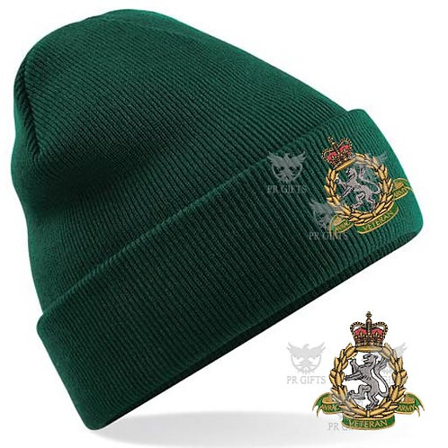 Embroidered Beanie Hats - WRAC Veteran