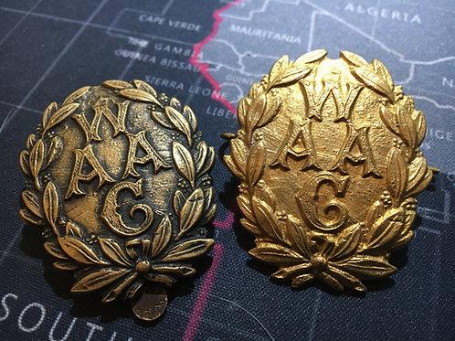 WAAC Original Bi Metal Cap Badge (Option 2)