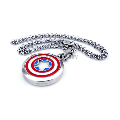Aromatherapy Locket - Capt America - Personalised