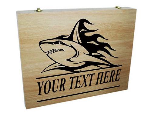 75 Piece Colouring Box (Shark)