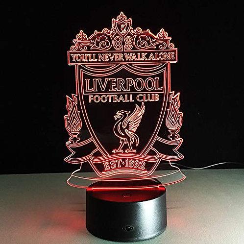 3D LED Light - Liverpool