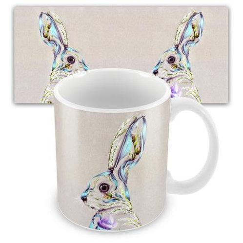 Ceramic Mugs - RUSTIC HARE KB30M