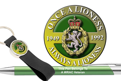 Car Decal Gift Set (Luxury)  - WRAC Once A Lioness