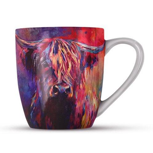 Bone China Mugs - HIGHLAND COW SG03H