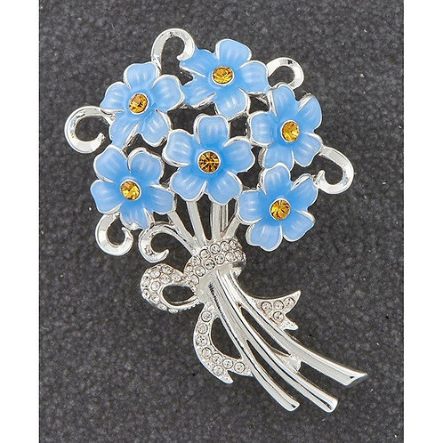 Equilibrium Forget Me Not Brooch