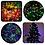 Thumbnail: 100 πολύχρωμα χριστουγεννιάτικα λαμπάκια LED