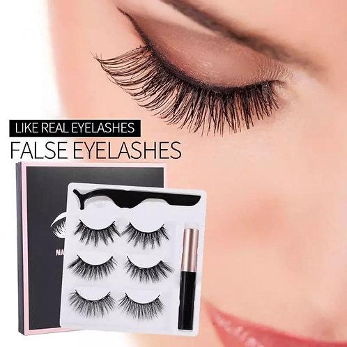 Μαγνητικές Βλεφαρίδες με ειδικό eyeliner