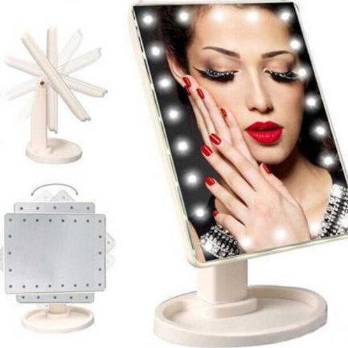 Καθρέπτης με LED φωτισμό και κουμπί αφής Large Led Mirror