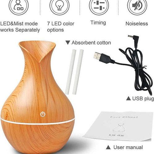 Μίνι Υγραντήρας Υπερήχων - Συσκευή Αρωματοθεραπείας Ultrasonic Diffuser KJR036