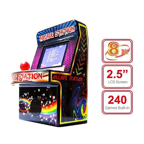 Μικρή Φορητή Παιχνιδομηχανή Retro με 240 Κλασικά Παιχνίδια
