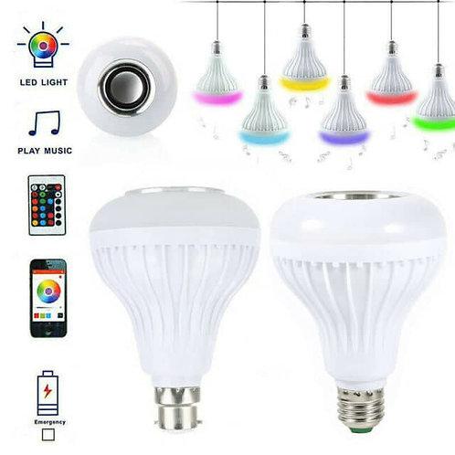 Έξυπνη Λάμπα LED εναλλασσόμενων χρωμάτων με ΒΤ και ηχείο για να παίζει μουσική