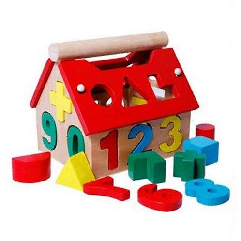 Ξύλινο παιδικό παιχνίδι δραστηριοτήτων (22 τεμ.)