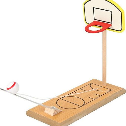 Επιτραπέζιο Ξύλινο Παιχνίδι Mini Basket Δαχτύλου