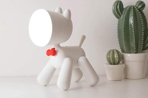 Φωτάκι Νυχτός - Φωτιστικό Σκυλάκι με Διακόπτη Ουρά - Waggy Puppy Lamp