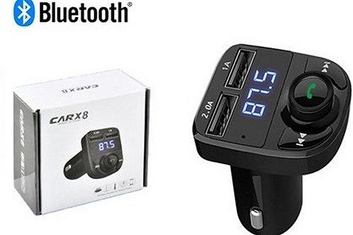 Bluetooth FM Transmitter / Hands Free / Διπλός Φορτιστής