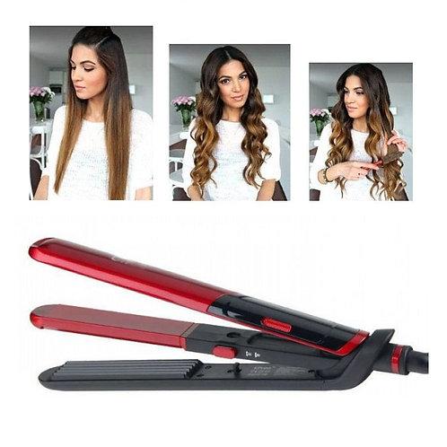 Συσκευή ισιώματος μαλλιών 2 σε 1 (ίσιωμα, μπούκλες) ProGemei GM-2806