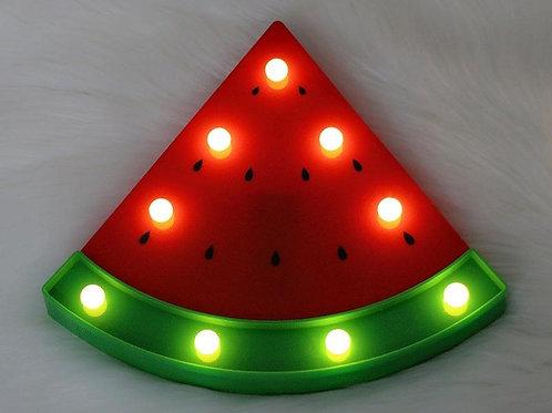 Φωτιστικό LED σε σχήμα καρπουζιού