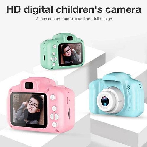Φωτογραφική μηχανή - βιντεοκάμερα για παιδιά (ροζ χρώμα)