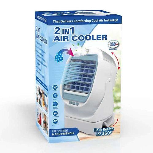 Mini Φορητό Air Cooler με κλιπ & Συσκευή Αρωματοθεραπείας