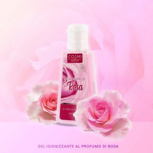 Αντισηπτικό Gel χεριών με άρωμα τριαντάφυλλο 30 ml