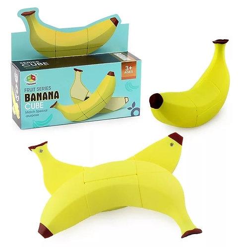 Κύβος Του Ρούμπικ Σε Σχήμα Μπανάνας