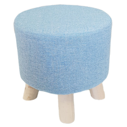 Παιδικό σκαμπό σε γαλάζιο χρώμα