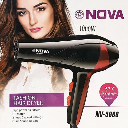 Πιστολάκι Μαλλιών Nova NV-5888 ισχύος 1000W