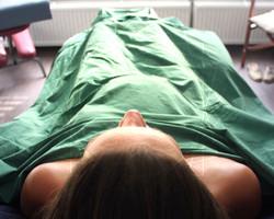 Prenatal Massage: Semi-reclined