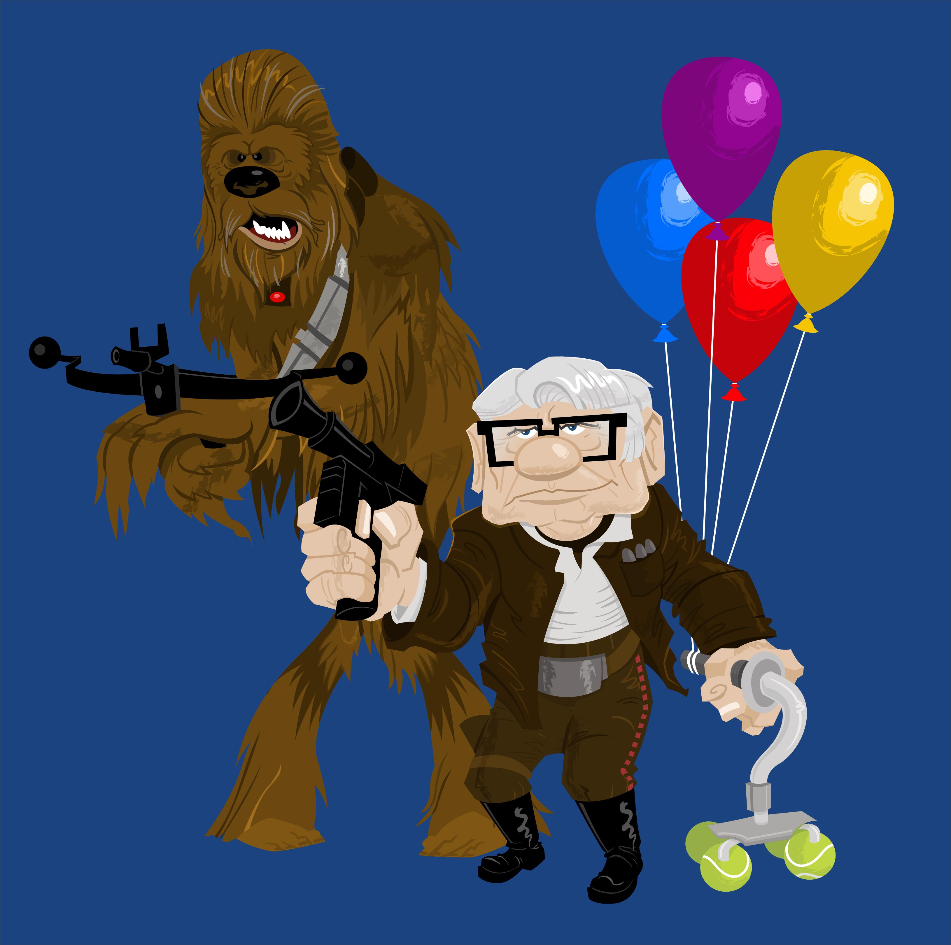 Han & Chewie Go Up
