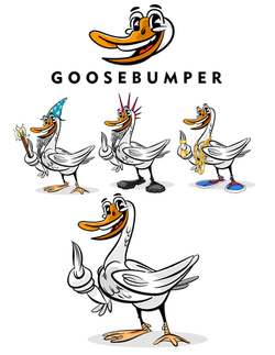GooseBumperMascot
