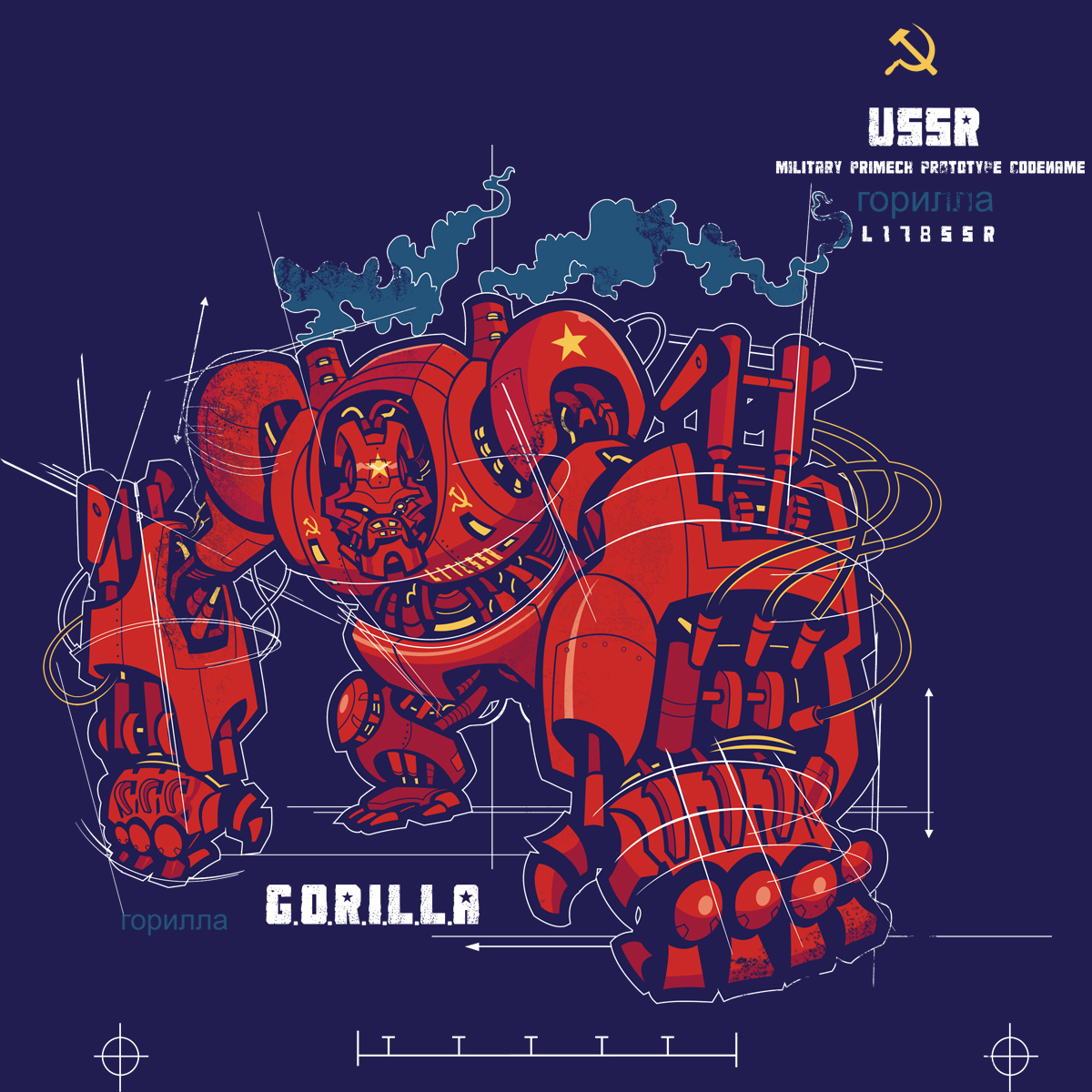 Cold War Gorilla