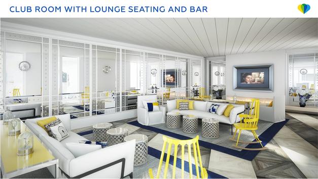 Club room with lounge