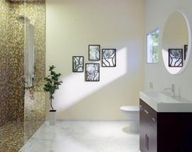 modern bathroom aventura village miami a