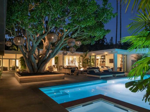 Cindy Crawford is asking $16 million for Beverly Hills MidCentury Mansion