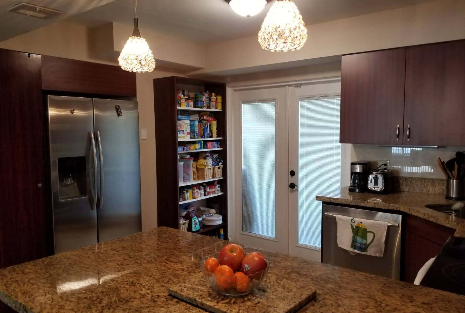 home for sale in plantation kitchen view