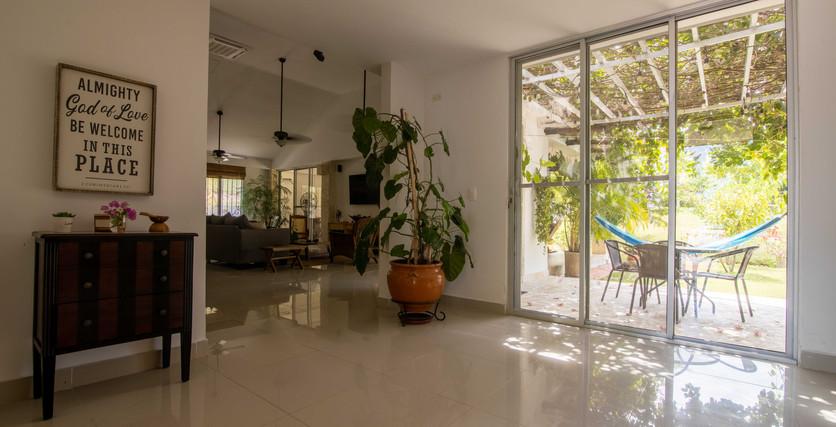espectaculares espacios abiertos en toda la casa