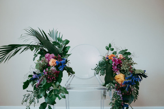 Celebration Floral Throne